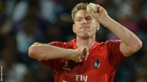 James Faulkner was the joint-leading wicket-taker in Lancashire's victorious 2015 T20 Blast season with 25