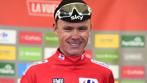 Chris Froome wins the Vuelta