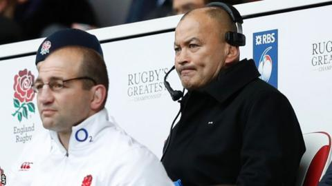 England head coach Eddie Jones