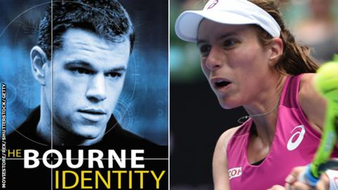 Bourne Identity and Johanna Konta