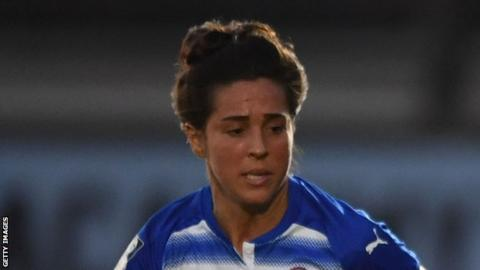 wsl reading women ease to 4 0 win over yeovil town ladies bbc sport