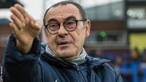 "Maurizio Sarri says he must change the ""mentality"" at Chelsea"