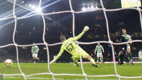 Dame N'Doye's goal sealed Copenhagen's shock 3-1 win on the night