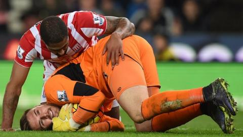 Glen Johnson and Jack Butland have played 13 Premier League games together for Stoke City
