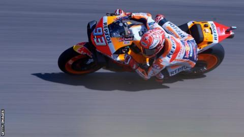 MotoGP: Marc Marquez on brink of sixth title with Aragon Grand Prix victory