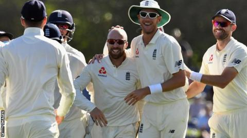 Somerset star Jack Leach helps England finish strongly against Sri Lanka