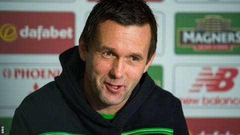 Deila led Celtic to a league and cup double last season