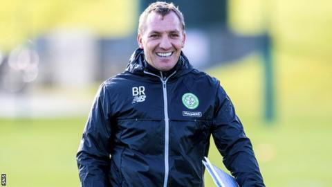 Brendan Rodgers' side will be crowned champions if Dundee beat Aberdeen on Friday night