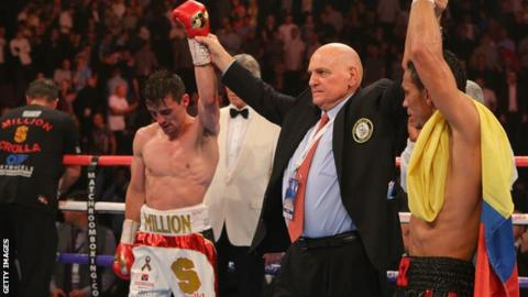 A dejected Anthony Crolla after the bout with Darleys Perez is judged a to be a draw in July