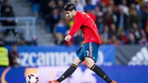 Alvaro Morata last played for Spain in November 2017 when he scored against Costa Rica in a friendly