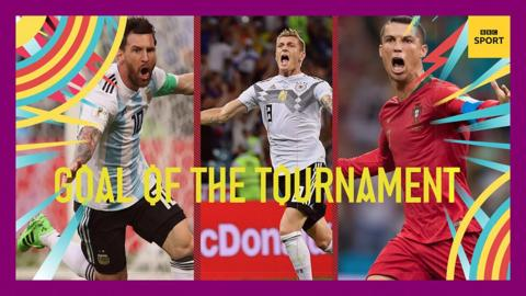 World Cup goal of the tournament