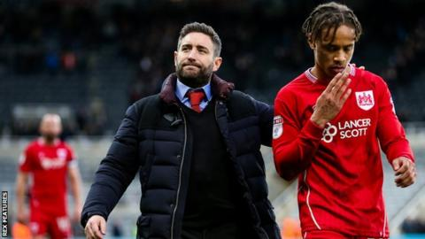 Lee Johnson and Bobby Reid