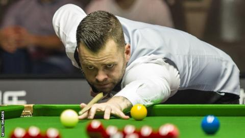 Jimmy Robertson at the European Masters