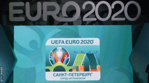 Euro 2020 St Petersburg logo