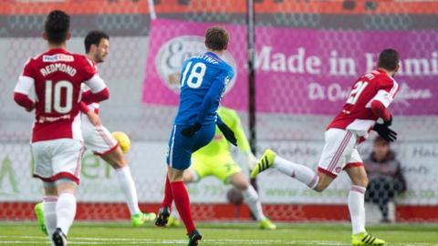 Sean Longstaff scores early goal for Kilmarnock