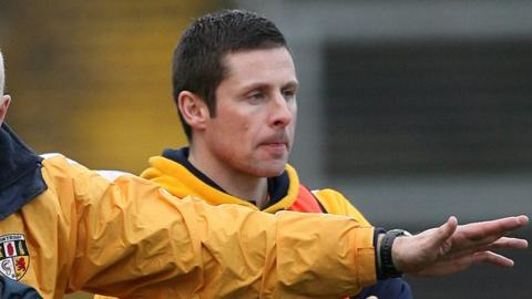 Gearoid Adams was previously part of Liam Bradley's backroom team at Antrim