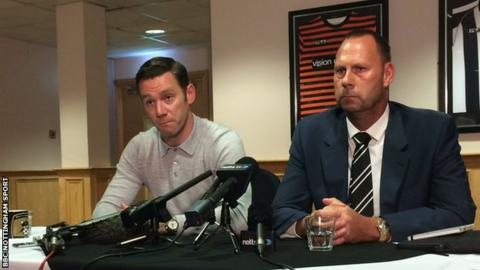 Kevin Nolan (left) and Alan Hardy
