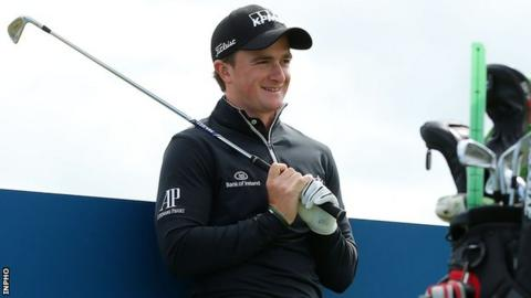 Paul Dunne secured a place at the US Open after a marathon qualifying session in England