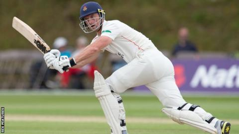Lancashire skipper and wicket-keeper Dane Vilas scored at more than a run a ball