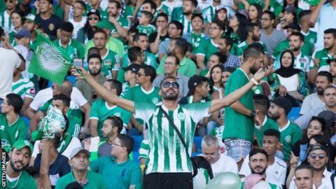 Raja Casablanca fans