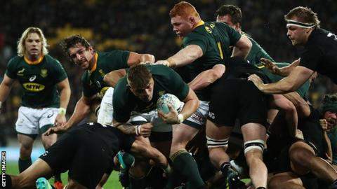 Papier makes first Springbok start against Scotland