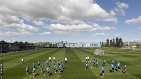 Real Madrid training ground