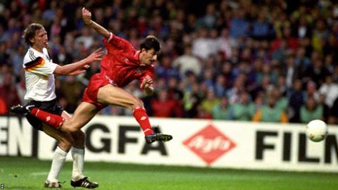 Ian Rush scored one of the most famous goals in Welsh football history with the winner against World champions Germany in 1991, but Terry Yorath's side failed to qualify for Euro 1992.
