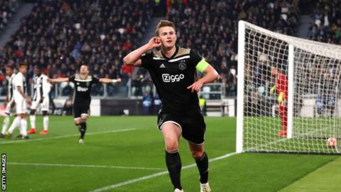 Juventus 1 2 Ajax Agg 2 3 Brilliant Ajax Win To Knock Out
