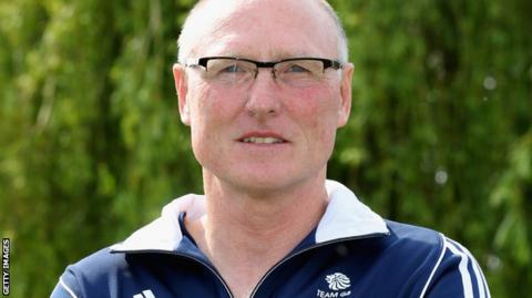 Rowing coach Paul Thompson
