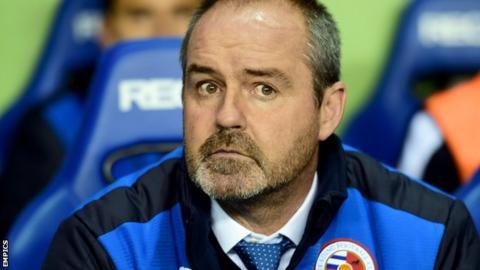 Reading manager Steve Clarke
