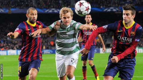 Teemu Pukki has Champions League experience from his time at Celtic