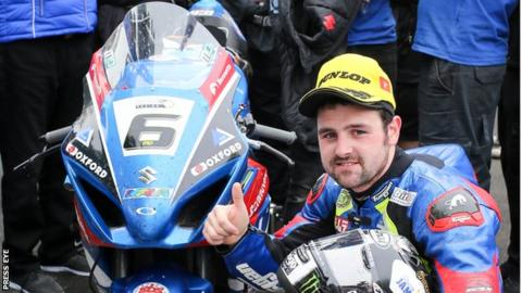 Michael Dunlop aims for further success after winning the Senior TT on the Isle of Man in June