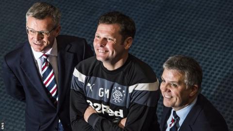 Stewart Robertson, Graeme Murty and Mark Allen