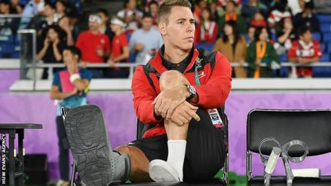 Liam Williams was injured at the 2019 World Cup