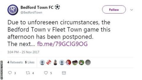 Bedford statement
