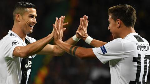 Dybala and Ronaldo