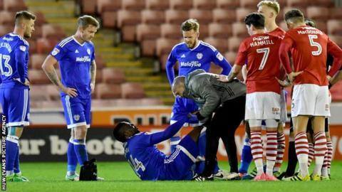 Sol Bamba injured at Barnsley