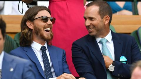 Tommy Fleetwood and Sergio Garcia