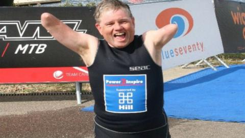 John Willis has set himself the challenge of taking on all the Olympic and Paralympic events
