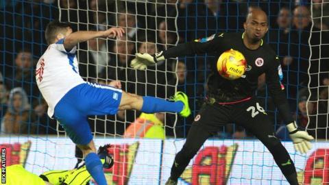 Sam Baldock scores for Brighton