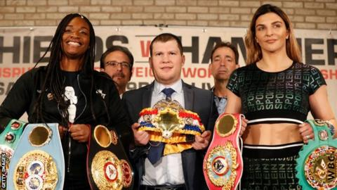 Claressa Shields v Christina Hammer: 'The biggest fight in women's boxing history'