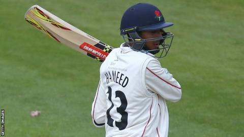Lancashire opener Haseeb Hameed