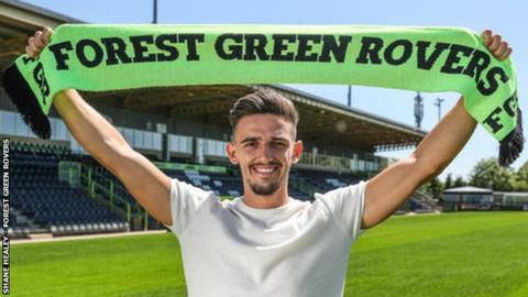 Forest Green Rovers defender Liam Shephard