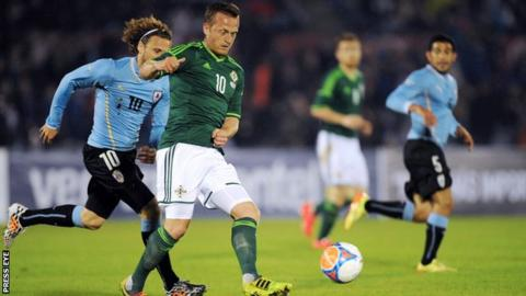 Northern Ireland international Sammy Clingan missed the Euro 2016 finals because of injury