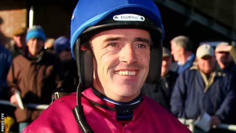 Ruby Walsh won the Champion Chase at Down Royal on Valseur Lido