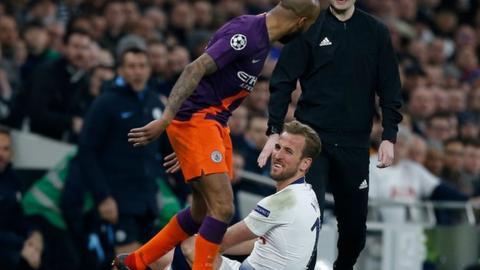 Tottenham 1-0 Man City: Son Heung-min scores winner after Harry Kane hobbles off
