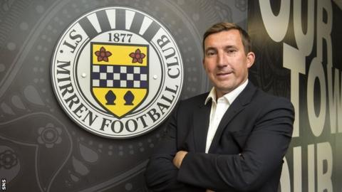 Alan Stubbs was appointed as St Mirren manager in June