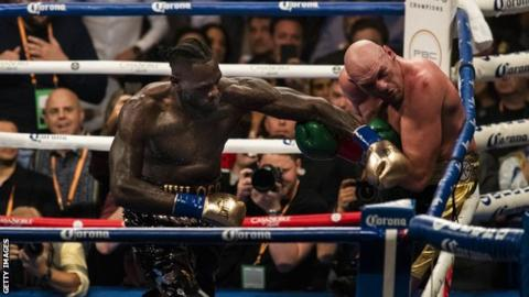 Tyson Fury says Deontay Wilder rematch 'likely' in March or April