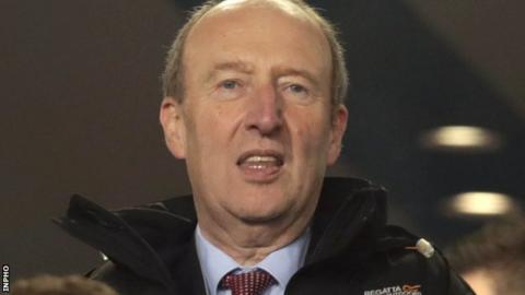 Shane Ross promises not a single cent will go to the FAI