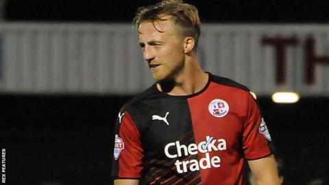Lee Barnard of Crawley Town
